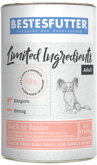 bestesfutter-getreidefreies-nassfutter-limited-ingredients-kaenguru-hering