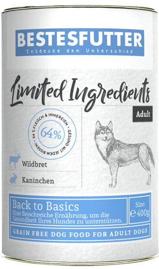 bestesfutter-getreidefreies-nassfutter-limited-ingredients-wildbret-kaninchen